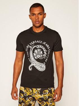 Versace Jeans Couture Versace Jeans Couture T-Shirt B3GZA7TH Schwarz Slim Fit