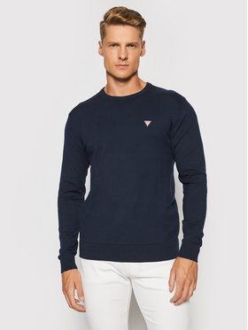 Guess Guess Pullover M1RR55 Z2SA0 Dunkelblau Slim Fit