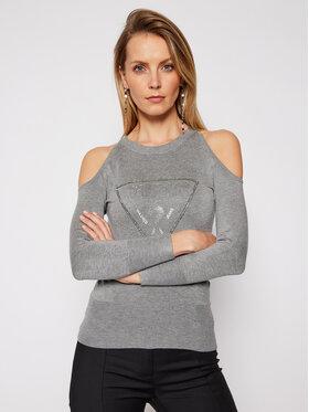 Guess Guess Пуловер Aurelie W1RR0D Z2NQ0 Сив Regular Fit