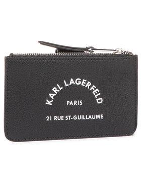 KARL LAGERFELD KARL LAGERFELD Veľká dámska peňaženka 205W3238 Čierna
