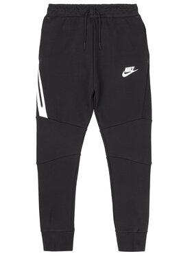NIKE NIKE Spodnie dresowe Tech Fleece 804818 Czarny Slim Fit