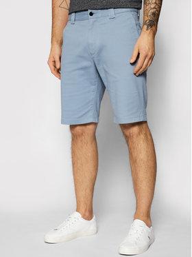 Tommy Jeans Tommy Jeans Szorty materiałowe Scanton DM0DM11076 Niebieski Slim Fit