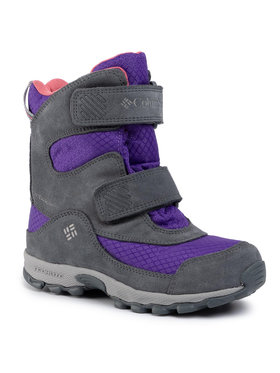 Columbia Columbia Śniegowce Youth Parkers Peak Boot YY5409 Fioletowy