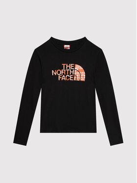 The North Face The North Face Palaidinė Easy Tee NF0A3S3B1E31 Juoda Regular Fit