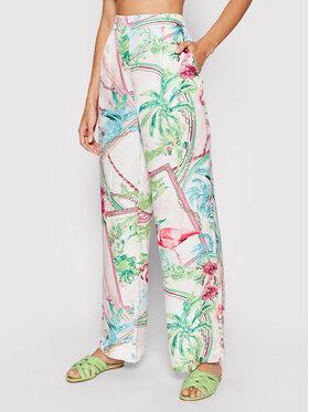Guess Guess Pantalon en tissu Felicity W1GB97 WDXO0 Multicolore Regular Fit