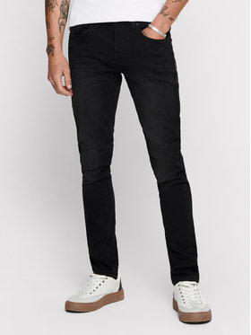 Only & Sons ONLY & SONS Jeans Loom 22007451 Schwarz Slim Fit