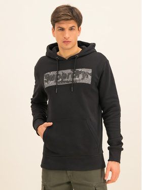 Superdry Superdry Pulóver Camo International M2000090A Fekete Regular Fit