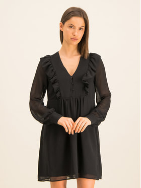 Guess Guess Robe de cocktail W01K70 W8SL0 Noir Relaxed Fit