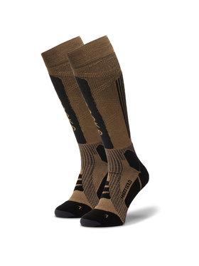 X-Socks X-Socks Κάλτσες Ψηλές Unisex Helixx Gold 4.0 SSXXW19U Καφέ