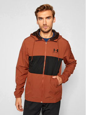 Under Armour Under Armour Vetrovka Ua Sportstyle Wind 1329297 Bordová Loose Fit