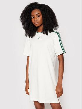 adidas adidas Φόρεμα καθημερινό Tennis Luxe Tee H56457 Λευκό Regular Fit