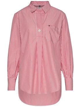 TOMMY HILFIGER TOMMY HILFIGER Marškiniai Lara WW0WW27382 Raudona Regular Fit