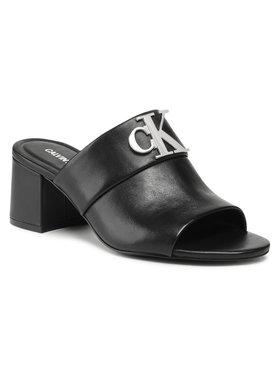 Calvin Klein Jeans Calvin Klein Jeans Šľapky Heel YW0YW00136 Čierna