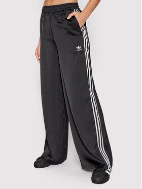 adidas adidas Pantaloni da tuta adicolor Classics Satin H37822 Nero Relaxed Fit