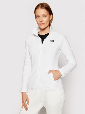 The North Face The North Face Полар Glacier NF0A2UAUFN41 Бял Regular Fit