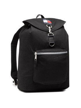 Tommy Jeans Tommy Jeans Rucksack Tjm Heritage Flap Backpack AM0AM07144 Schwarz