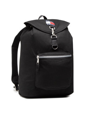 Tommy Jeans Tommy Jeans Rucsac Tjm Heritage Flap Backpack AM0AM07144 Negru