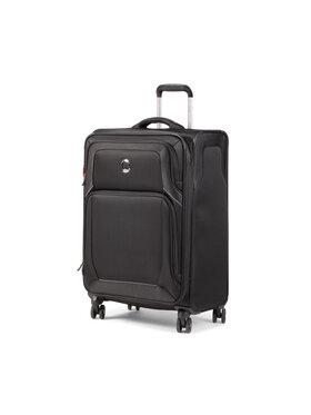 Delsey Delsey Střední textilní kufr Optimax Lite 00328582000 Černá