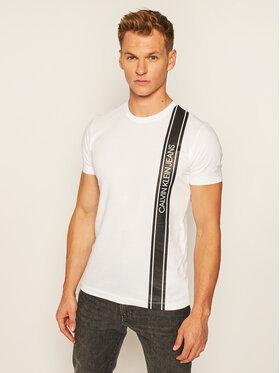 Calvin Klein Jeans Calvin Klein Jeans T-Shirt J30J315737 Weiß Regular Fit