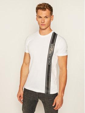 Calvin Klein Jeans Calvin Klein Jeans Тишърт J30J315737 Бял Regular Fit
