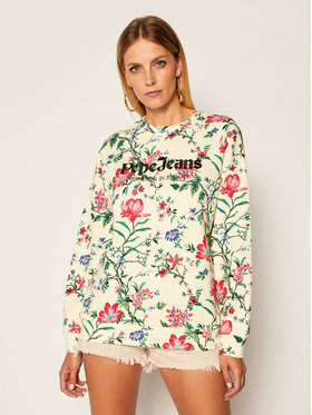 Pepe Jeans Pepe Jeans Džemperis Baily PL580972 Smėlio Relaxed Fit