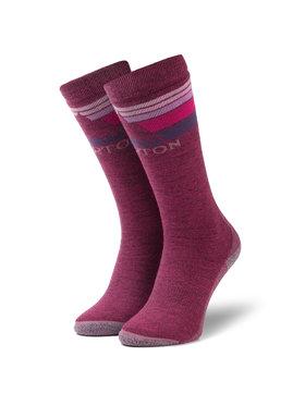 Burton Burton Ilgos Moteriškos Kojinės Emblem Midweight Sock 10069105600 Violetinė