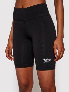 Reebok Reebok Pantaloni scurți sport Identity Logo GL4694 Negru Slim Fit