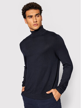 Only & Sons Only & Sons Pull à col roulé Wyler 22020879 Bleu marine Regular Fit