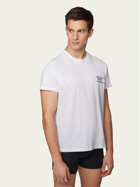Boss Boss T-shirt Rn 24 50426319 Blanc Comfort Fit