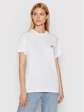Dickies Dickies T-Shirt Mapleton DK0A4XDAWHX Biały Regular Fit