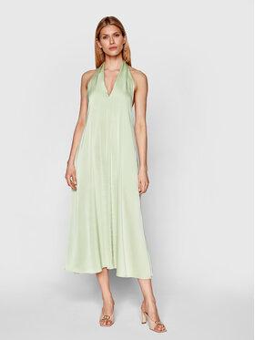 Samsøe Samsøe Samsøe Samsøe Коктейлна рокля Cille F21100203 Зелен Regular Fit