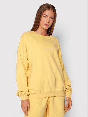 PLNY LALA PLNY LALA Sweatshirt Flora PL-BL-FO-00024 Jaune Oversize