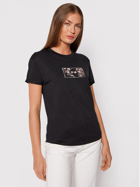 Roxy Roxy Póló Epic Afternoon ERJZT05271 Fekete Regular Fit