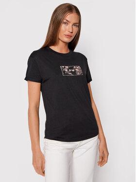 Roxy Roxy T-shirt Epic Afternoon ERJZT05271 Crna Regular Fit