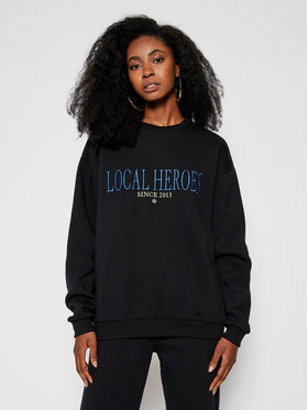 Local Heroes Local Heroes Bluza LH 2013 AW2021S0023 Czarny Regular Fit