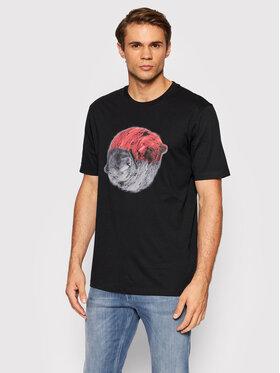 Hugo Hugo T-shirt Dichard 50455275 Noir Regular Fit