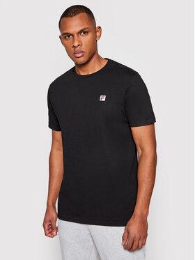 Fila Fila T-Shirt Samuru 688567 Czarny Regular Fit