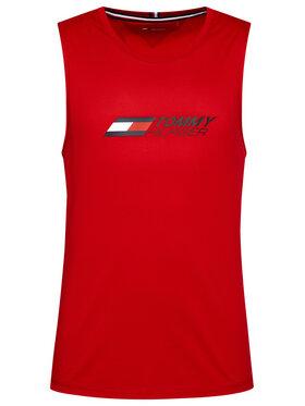 Tommy Hilfiger Tommy Hilfiger Tank top marškinėliai Essentials MW0MW17229 Raudona Relaxed Fit