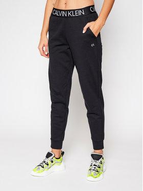 Calvin Klein Performance Calvin Klein Performance Spodnie dresowe 00GWF0P679 Czarny Regular Fit