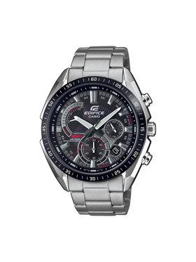 Casio Casio Zegarek Edifice EFR-570DB-1AVUEF Srebrny