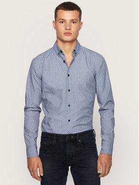 Boss Boss Košile Mabsoot_1 50436882 Modrá Slim Fit