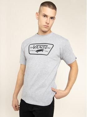 Vans Vans T-Shirt Full Patch VN000QN8Y281 Grau Classic Fit