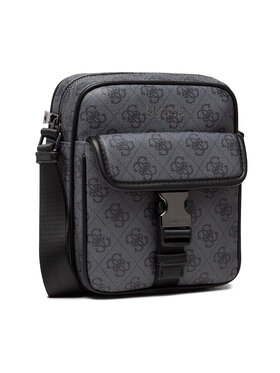 Guess Guess Geantă crossover Vezzola (4G Print) HMVEZL P1359 Gri