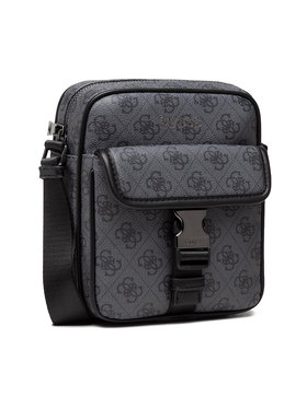 Guess Guess Мъжка чантичка Vezzola (4G Print) HMVEZL P1359 Сив