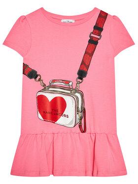 Little Marc Jacobs Little Marc Jacobs Sukienka codzienna W12362 D Różowy Regular Fit