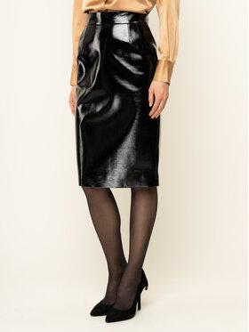 Liu Jo Liu Jo Suknja od imitacije kože C69151 J1825 Crna Regular Fit
