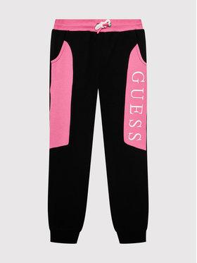 Guess Guess Pantalon jogging H1YJ05 KAD70 Noir Regular Fit