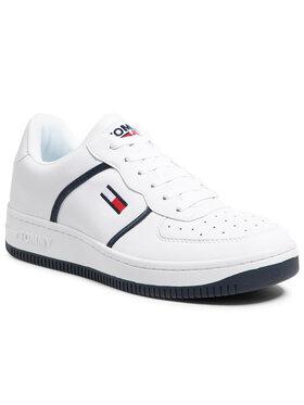 Tommy Jeans Tommy Jeans Sneakersy Rwb Basket Cupsole EM0EM00696 Biela