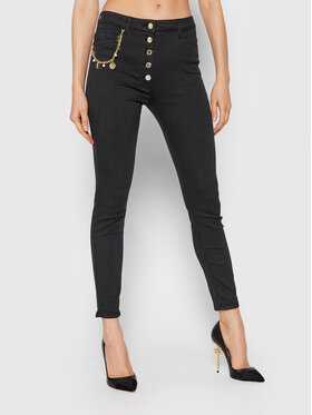 Elisabetta Franchi Elisabetta Franchi Jeans PJ-16S-16E2-V320 Schwarz Super Skinny Fit