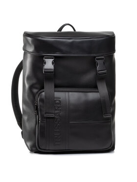Trussardi Jeans Trussardi Jeans Zaino Courmayeur Backpack Md Smooth 71B00223 Nero